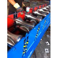 Half Round Metal Ridge Cap Roll Forming Machine For the Top of Workingshop of Separating Rainwater