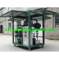 High Reliability Weather-Proof Enclosed Type Transformer Oil Purifying Machine