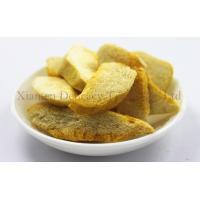 Crisp Freeze Dried Mango Slices Light Yellow Fruit Snacks for Family