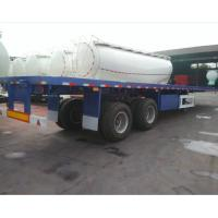 40 feet container flatbed trailer 40ton container chassis on sale