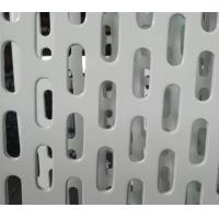 flattened perforated metals slot hole