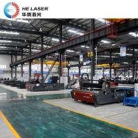 High Powered Fiber Laser Cutting Machine , Galvanized Steel Sheet Cutting Machine