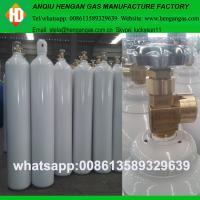 High pressure seamless steel argon oxygen nitrogen co2 gas cylinder
