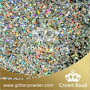 holo silver glitter powder