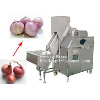 500-700KG/H Automatic Onion Skin Peeling Machine by Compressed Air