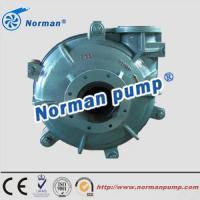 high abrasive resistant rubber lined slurry pump