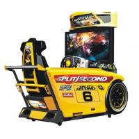 Speed Car Racing Arcade Machine Metal Material High Resolution With 42  LCD Screen