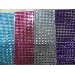 China Self Adhesive Rhinestones Wholesale Fashion Hotfix Crystal Rhinestone Mesh on sale