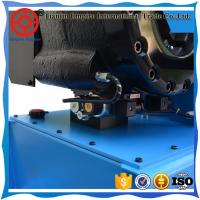 Blue color with different 2 sizes hydraulic hose crimping P32 China manufacturer finn-power hose crimping machine
