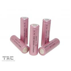 China AAA Rechargeable Batteries 700mAh Lithium ion Cylindrical ICR14500 Cell on sale