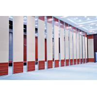 Acoustic Mdf Board Folding Partition Walls With Aluminium Frame