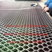 diamond expanded metal panel for dock leveler loading ramp bridge