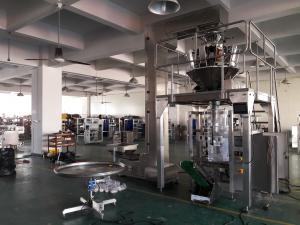 Stand Up Bag Coffee Packaging Machine , Coffee Bean Packing Machine Automatic