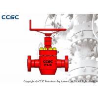 CCSC Large Diameter Gate Valves , API 6A Approved Pressure Seal Gate Valve