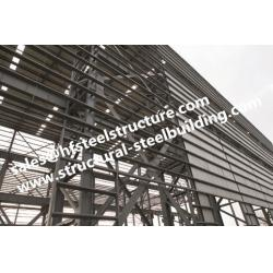 China Q235 Q345  Heavy Metal Structural Steel Fabrication For Construction Projects on sale