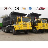 70 Ton 6X4 Mining Dump Truck And Trailer
