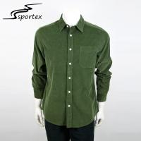 Custom Plain Colors Mens Casual Button Down Shirts Light Weight Anti Bacterial