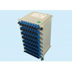 China PLC 1x64 Lightwave Circuit  Fiber Optic Splitter For PON Transmission on sale