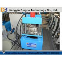 PPGI Shutter Door Roll Forming Machine / Rolling Shutter Machine 0.3mm-0.6mm Thickness