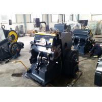 ML Series Pizaa Box Flat Creasing Die Cutting Machine / Corrugated Box Making Machine