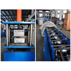 of mobile seamless gutter machine: bottom drive rollers and