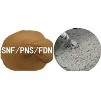 Concrete Additives Sodium Salt Naphthalene Sulphonate Formaldehyde SNF Superplasticizer For Construction / Textile / Dye