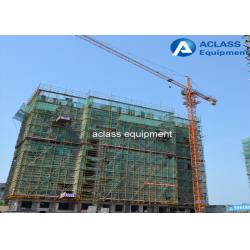 China Construction Lifting Equipment Fixed Tower Crane 50 Meters Boom Length on sale