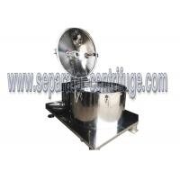 Plate Bag Lifting Discharge Food Separator - Centrifuge Banana Juice Centrifuge