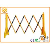 2.5 Meter Outdoor Road Traffic Safety Equipment Expandable Plastic Barrier