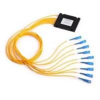 Compact design High channel counts Fiber Optic PLC Splitter with Wide wavelength range