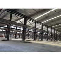 Prefabricated Metal Sheet Steel Structure Building With Rolling Or Sliding Door