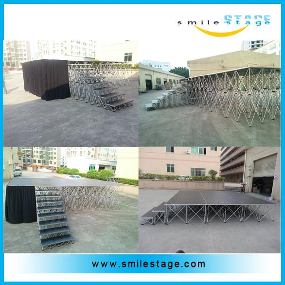 China Quick Install Movable Stage for Wedding Decoration supplier