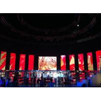 P10 1R1G1B  Aluminum or Iron Full Color Indoor Led Video Wall Rental for Theater