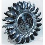 High Efficiency Stainless Steel Pelton Turbine Runner/Pelton Wheel for Hydropower Project