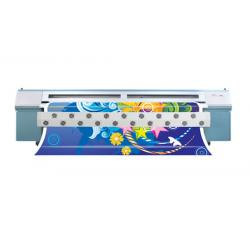 China 1440 DPI Solvent Ink Large Format Printer Stretch Soft PVC Ceiling Film on sale