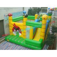 0.55mm PVC Tarpualin Inflatable bouncer slide Combo , Bouncer Jumpers Custom