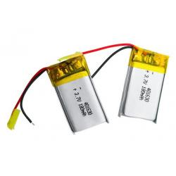 China Safety Lithium Polymer Battery Pack 401630 3.7v 180mah Lipo Battery For Bluetooth Ear Phone on sale