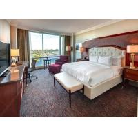 Dubai Luxury Hotel Bedroom Furniture Wood Veneer And Painting