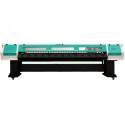 China Outdoor Billboard Banner Large Format Printer 800 DPI Inkjet Printing on sale