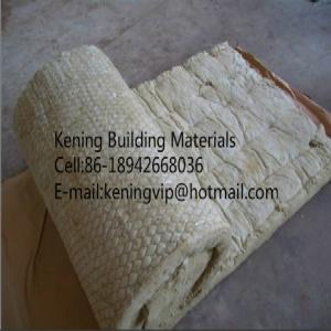 Rock wool blanket mineral wool roll with wire mesh for for 2 mineral wool insulation