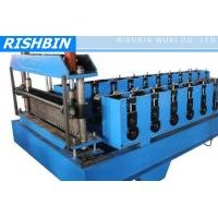 CE & ISO Metal Deck Roll Forming Machine with 22 KW Power for Floor Deck
