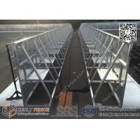HESLY Aluminium Stage Barrier