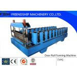 1250 mm Width Metal Deck Roll Forming Machine PLC Control System