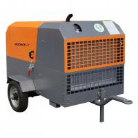 110kw Diesel Engine Mining Portable Screw Air Compressor with Jack Hammer