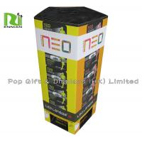 Customzied Color Cardboard Dump Bin Supermarket Use For Socks Sales