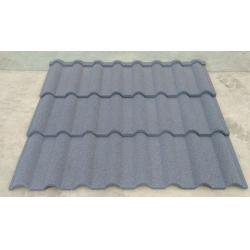 China Stone Coated Roofing Sheet Shingle Series Materials , Stone Coated Metal Roof Tiles on sale