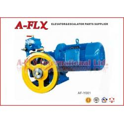 China DC110V 0.9A Elevator Traction Machine Lift Traction System of AC1 / VVVF Control on sale