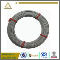 1x7 1X19 hot dipped galvanized rope steel strand steel wire rope