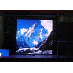 China Black SMD2121 P4 Indoor Full Color LED Display Module With 1/16 Current Scan Driver on sale