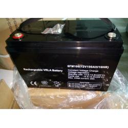 China Long Life UPS Lead Acid Battery 100ah Solar 12v Lead Acid Batteries Off Grid on sale